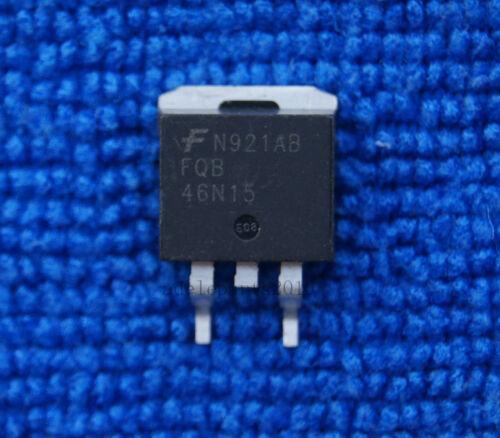 10pcs FQB46N15 TO-263 FAIRCHIL 150V N-Channel MOSFET