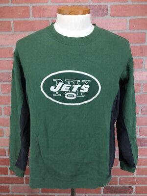 Green Reebok NFL New York Jets Classic Logo Long Sleeve Shirt