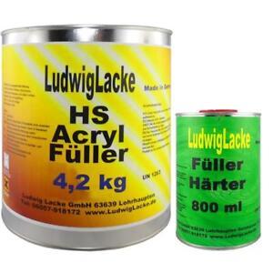 5-kg-Set-Acryl-Fueller-GRAU-Grundierung-Rostschutz-Acrylfueller-fuer-Autolack