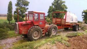 A3-Massey-Ferguson-1200-1250-Tractor-Poster-Brochure-Britains-Farm-1-32-Diorama