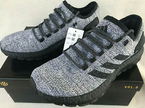 Details about Adidas PureBOOST All Terrain ATR CG2989 Blk Wht Marathon Running Shoes Men's 7.5
