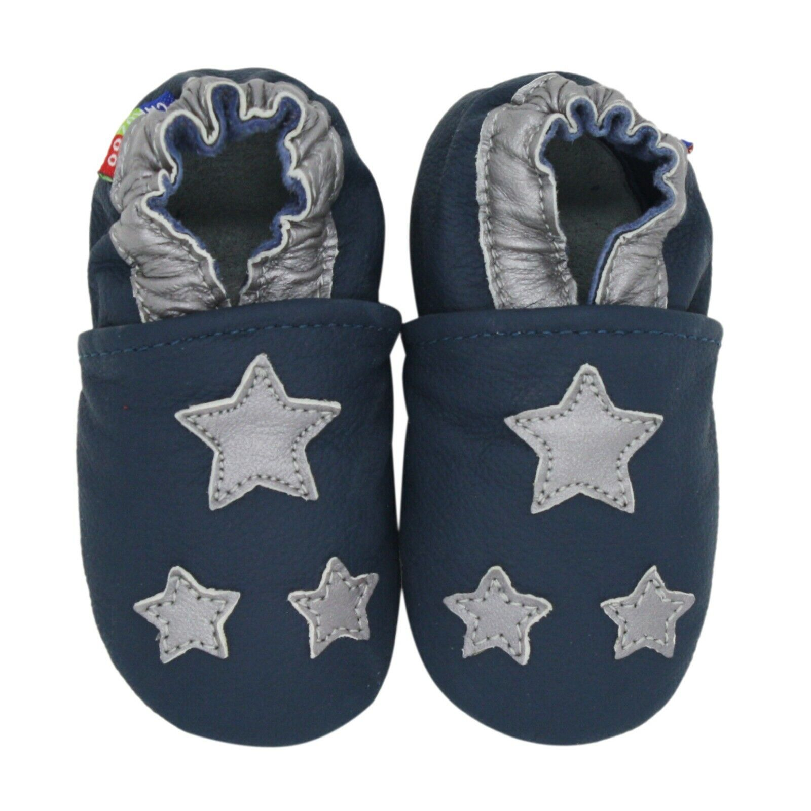 6-12m soft sole leather baby shoes