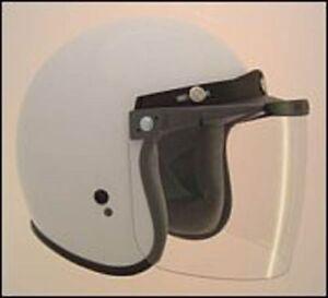 Klappe oben klar Sonnenblende für Jethelm Jet Stil Helme RS-04 V500