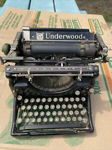 Underwood Portable Typewriter As Is For Parts Or Repair