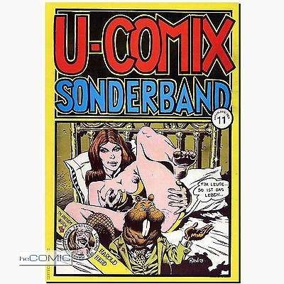 U-Comix Sonderband 11 Anthologie: SEX UPN Volksverlag Underground EROTIK FUNNY