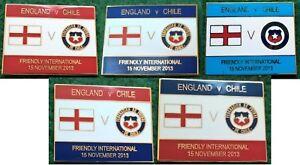 England-v-Chile-Friendly-International-15-November-2013-Wembley-Pin-Badge