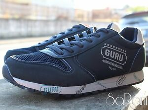 Caricamento dell immagine in corso Scarpe-Uomo-Guru-Sneakers-Casual-Sportive -Blu-Basse- 71d45c3d268