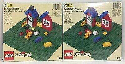 "NEW SEALED Lego 626 GREEN BASE PLATE PLATEFORM 32 x 32 Stud 10/"" x 10/"" FREE SHIP"