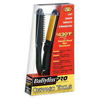 Babyliss Pro Ceramic Tools 1 1/2 Hair Straightening Flat Iron Black Ct2590