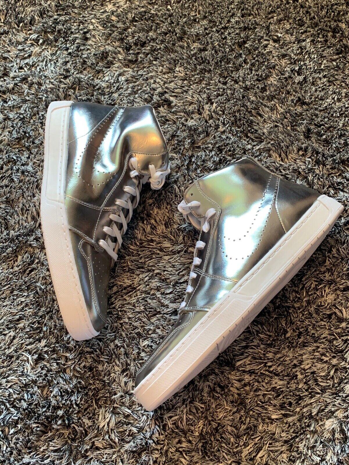 NUOVO SENZA SCATOLA-Nike argentooo scarpe da da da ginnastica Alte-Uk 12 47 ab555c