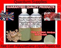 EasyFlo Clear - 1 Litre Fast Cast Polyurethane Liquid Plastic Kit