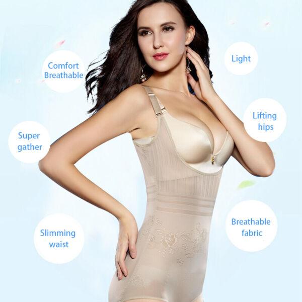 Damen Figurformend Up Bauchweg Mieder Shapewear Body Shaper Unterwäsche Korsett