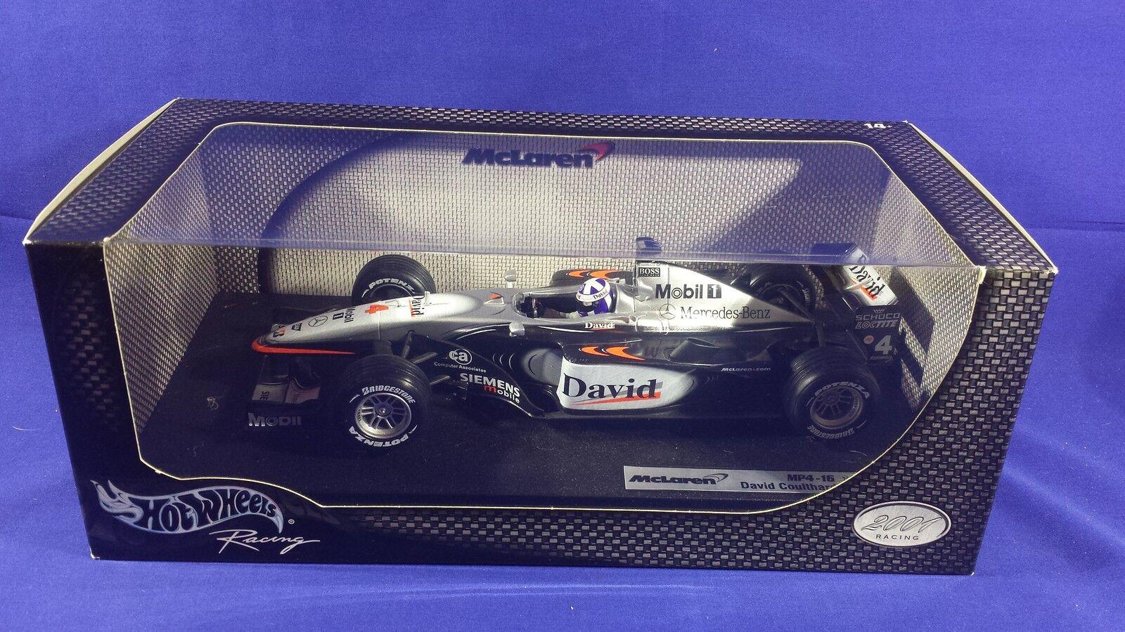 Hot Wheels McLaren Mercedes F1 1 18 Escala