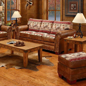 American Furniture Classics Deer Valley Sofa 8503 50 New