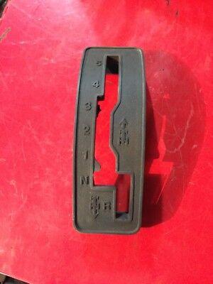 JOHN DEERE D105  LAWN /& GARDEN TRACTOR SHIFTER PLATE