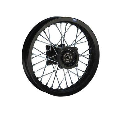 Hmparts Aluminium Rim Anodised 14 Inch Rear Gold 12 mm Typ2 Pit Bike Dirt Bike Cross