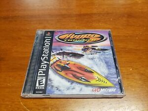 Hydro-Thunder-Sony-PlayStation-1-2000-Complete-TESTED-with-Registration-Card