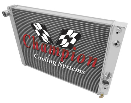 1989 90 91 92 93 94 95 96 Chevrolet Corvette Champion 3 Row Core Alum Radiator