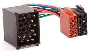 BMW-Auto-Radio-Adapter-Kabel-Stecker-DIN-ISO-3er-Compact-E30-E36-E46-Rundpin