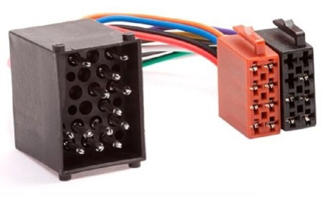 Bmw DIN ISO Auto Radio Adaptador Cable Enchufe 3er 5er z3 e34 e36 e39 Surga