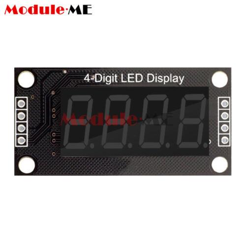 "0.36/"" TM1637 7-Segment 4-Bit Digital Tube LED Green Display Module For Arduino"