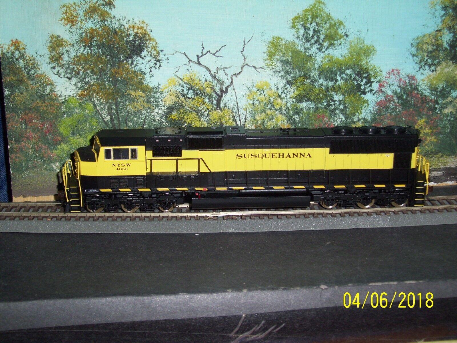 Escala Ho Athearn Genesis G6183/84/85 SD70M Susquehanna 4050/52/54