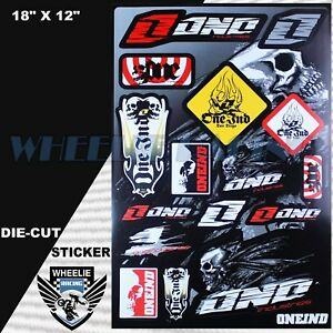 MOTOCROSS MOTORCYCLE DIRT BIKE ATV HELMET SPONSOR LOGO RACE STICKER DECAL #72PGT