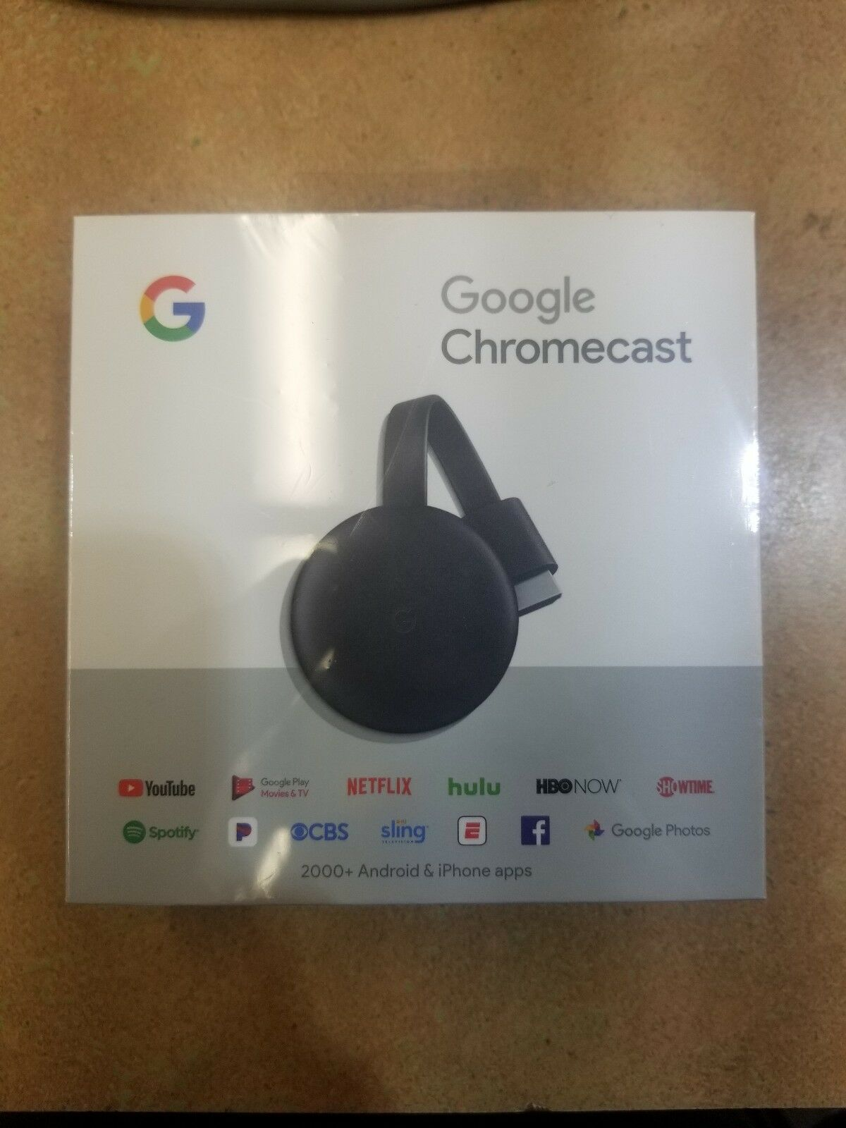 s-l1600 Google - Chromecast 3rd Generation Streaming Media Player - Charcoal