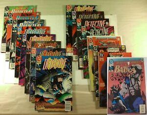Lot-of-16-DC-Comics-Batman-in-Detective-Comics-1990-93-VF