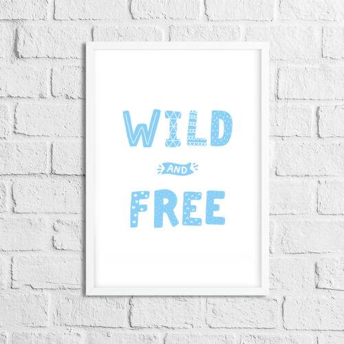 Girls Nursery Prints Bedroom Decor Pictures Baby Blue Boys Children/'s