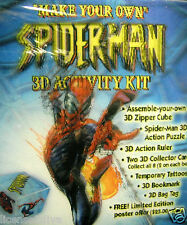 MARVEL SPIDERMAN!LENTICULAR 3D ACTIVITY KIT 3 FREE COMICS!LIMITED ED. NUMBERED!