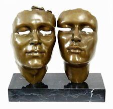 Erstklassige MODERN ART Bronze COMPLICITY signiert GUIA