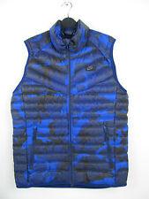 Nike Guild Tech 550 Camo Blau Blue Down Jacke Jacket Vest Bodywarmer Weste M