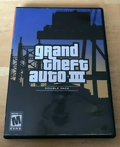 Grand Theft Auto 3 PS2 Playstation 2 Video Game