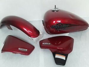 HONDA-600-SHADOW-VT600-GAS-TANK-RIGHT-LEFT-SIDE-COVER-FENDER-CLEAN-18K
