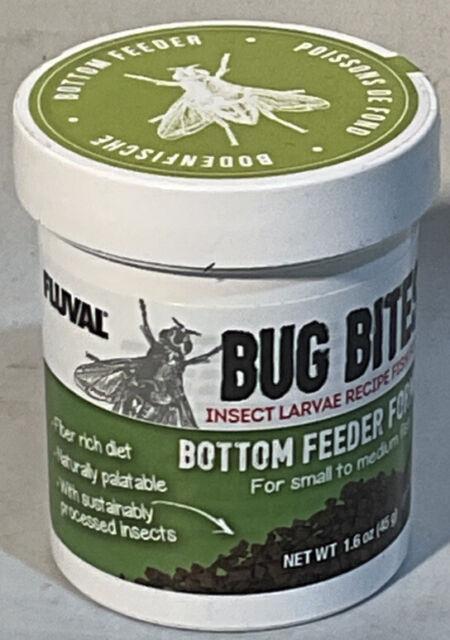 Fluval Bug Bites Bottom Feeder Fish Food, Granules for Small to Medium Sized