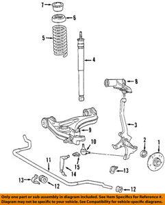 Magnificent Chrysler Oem 04 08 Crossfire Front Wheel Hub Bearing 5099235Aa Ebay Wiring 101 Israstreekradiomeanderfmnl