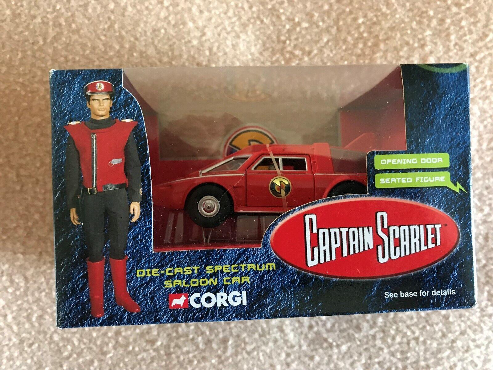 Corgi Captain Scarlet die-cast Spectrum Salon Car