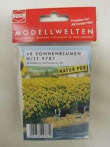 Busch-9787-N-Tt-Sunflowers-New-Original-Packaging
