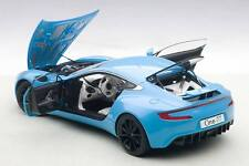 Autoart ASTON MARTIN ONE-77 TIFFANY BLUE in 1/18 Scale. New Release! In Stock!