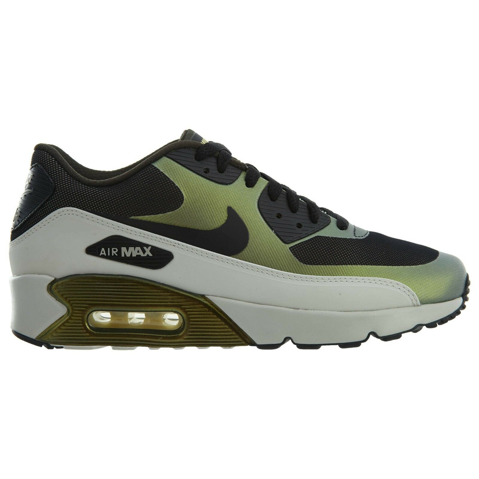 Nike Air Max 90 Ultra 2.0 SE Mens 876005-700 Pale Citron Running Shoes Size 7.5