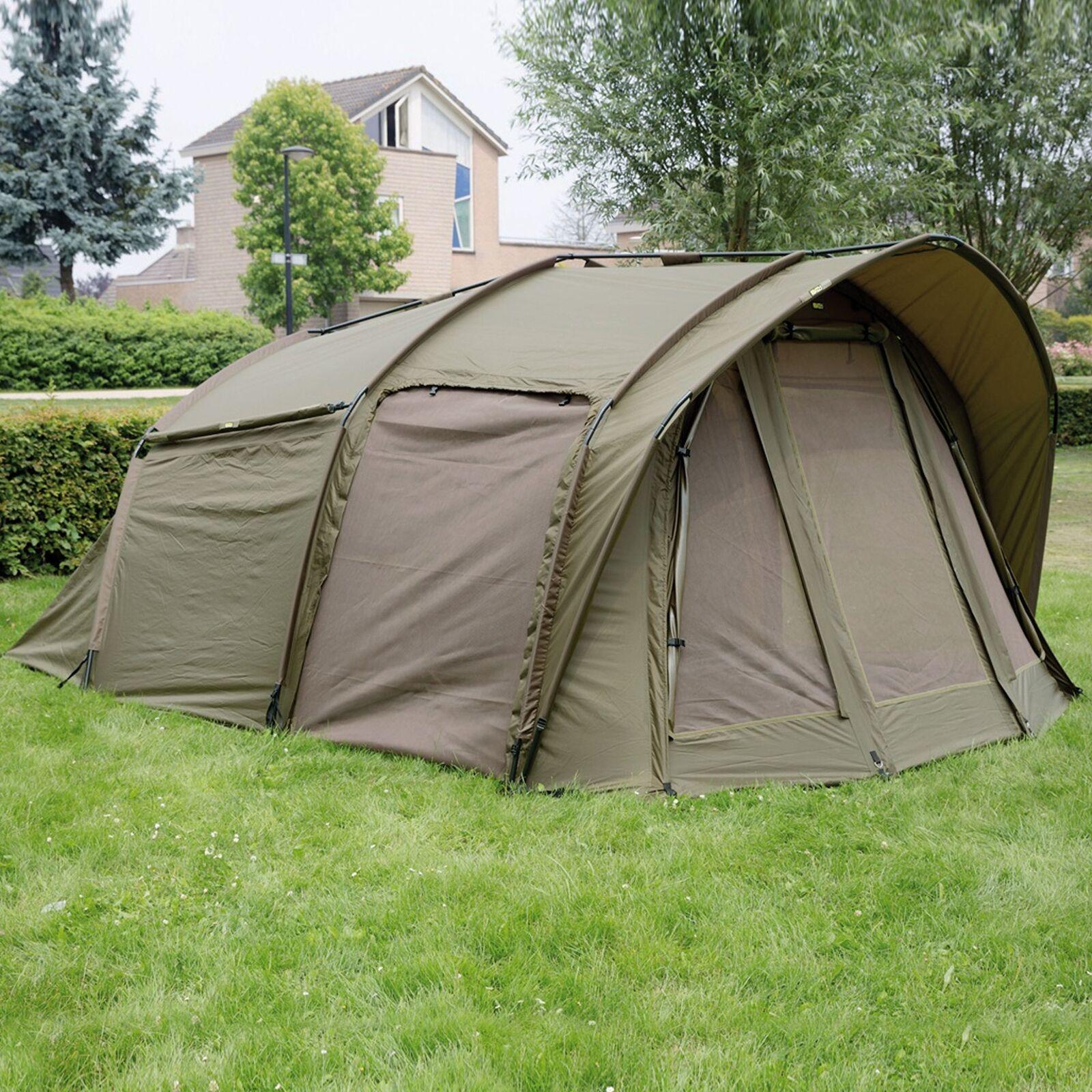 Angelliege Faith Big One Bedchair Karpfenliege 220x85cm Fleece Camping Liege