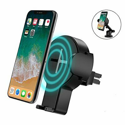 steanum Schnelles Wireless Auto Charger, 2 in 1 Qi KFZ kabelloses Ladegerät Air | eBay
