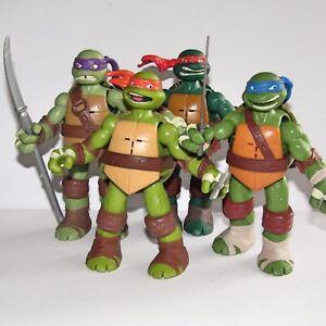 Teenage mutant ninja turtles talking toy figure set leo rap don image is loading teenage mutant ninja turtles talking toy figure set voltagebd Gallery