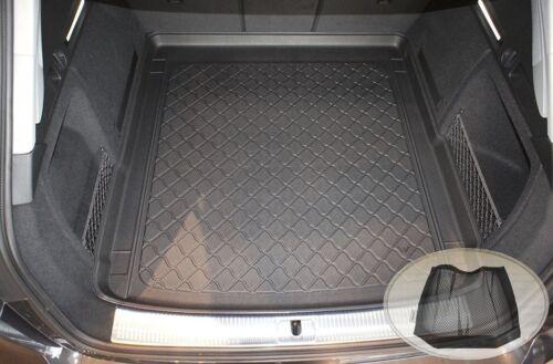 Netztasche für  Audi S4 B9 8W5 Avant Kombi 5-türer 2015-40 Kofferraumwanne TPE