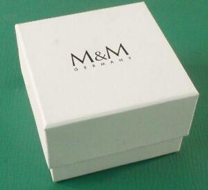 Verpackung-fuer-Uhr-Uhrenverpackung-Box-M-amp-M-Schmuck-Kette-Case-Z-122