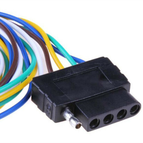 """36/"""" Car Trailers Signal Light Wiring Harness Wire 5-Pins Adapter Wire Connector"""