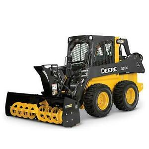 Brand new heavy duty skid steer snow blower Canada Preview