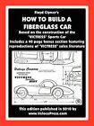 How to Build A Fiberglass Car by Floyd Clymer (Paperback, 2010)