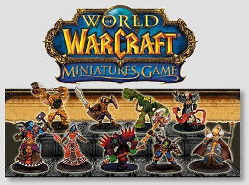 Wow Warcraft Miniaturas Mini  complete Core Set 66 Minis Con Tarjetas & Epopeyas